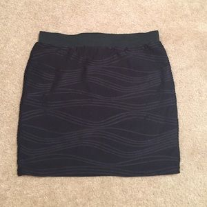 76% off Indigenous Dresses & Skirts - Black fitted mini skirt from ...