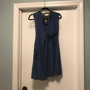 Lole Dresses & Skirts - NWOT blue wrap tie front dress