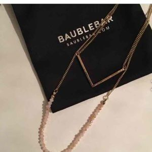 bauble Jewelry - 🆑39.00🆑BAUBLE BAR NATURAL STONE NECKLACE