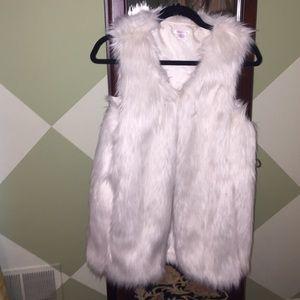 Xhilaration Jackets & Blazers - ❗️SALE❗️Never been worn  fur vest