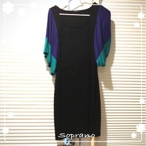 Soprano fitted casual dress