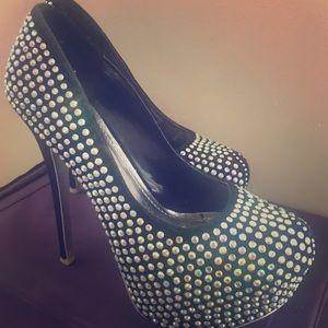 Alba Shoes - Bejeweled and Blingy