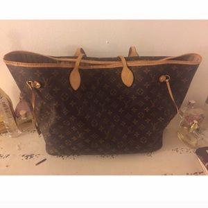Louis Vuitton Handbags - Brown Louis Vuitton Neverfull GM Tote Bag