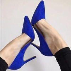 Banana Republic Shoes - BR Suede Adelia D'orsay Pumps