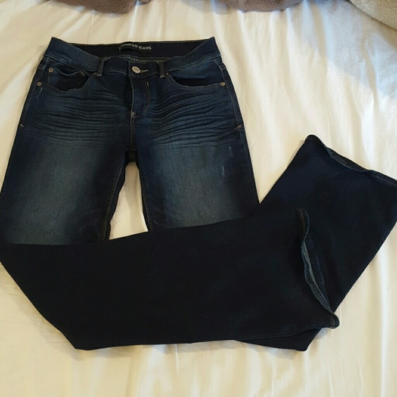 64% off Express Denim - Express Mia jeans- mid rise, bootcut 4L ...