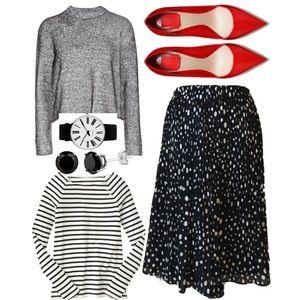 Allison Taylor Dresses & Skirts - Pleated Skirt