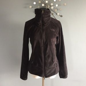 North Face funnel neck fleece jacket