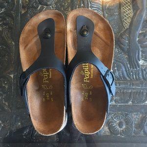 Birkenstock platform papillon sandals