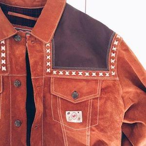 Genuine Leather vintage Jacket