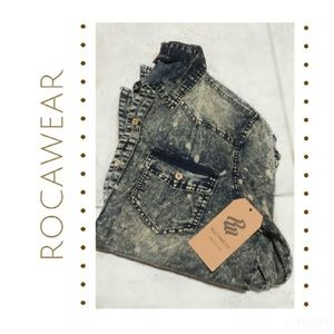 Rocawear Other - {Rocawear} antique bleach button down shirt