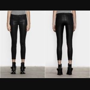 All Saints Brodie low rise cropped skinny jeans