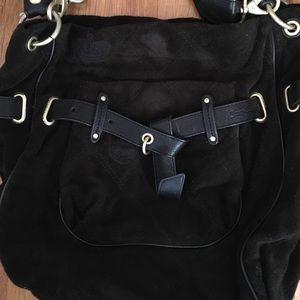 Juicy Couture Black Crossbody Shopping Bag