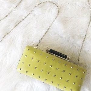 Diane von Furstenberg Handbags - DVF Neon Studded Clutch