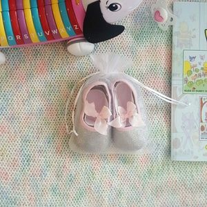 Other - ***DONATED***Beautiful Sparkle Flats- Infant