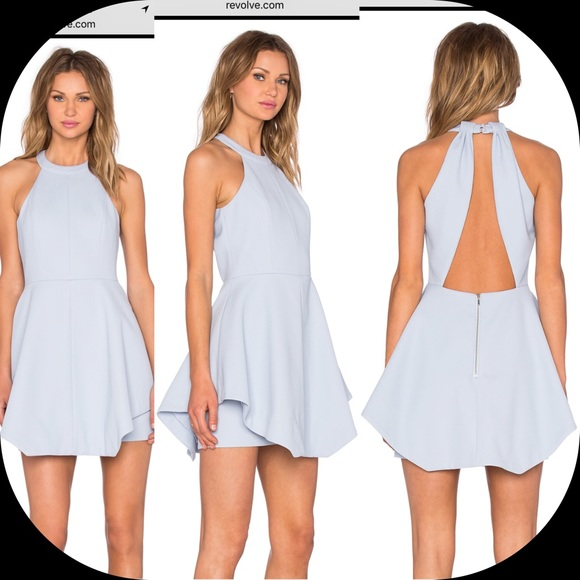 0de2129901d Keepsake x REVOLVE To The End Dress Pastel Blue