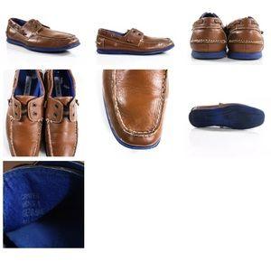 Steve Madden Shoes - STEVE MADDEN MEN'S BROWN LEATHER  LOAFERS SZ 8