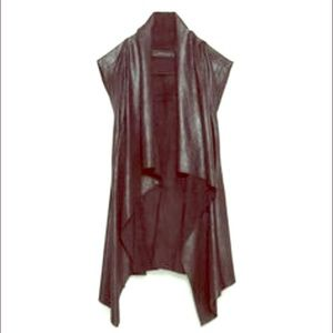 New ZARA biker vest