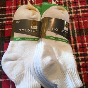 Gold Toe Other - NWT, Men's Gold Toe Quarter Socks