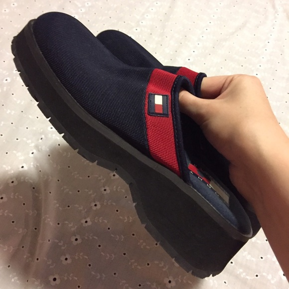 80bd9e6fbd1e76 M 587bc5df2ba50a1d51011801. Other Shoes you may like. Tommy Hilfiger  corduroy tassel mule clog. Tommy Hilfiger corduroy ...