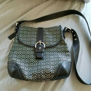 Coach Signature Crossbody Handbag