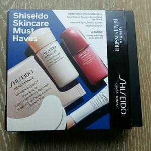 New Shiseido Skincare Set, travel size