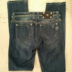 Miss Me Denim - Miss Me rhinestone and studs jeans