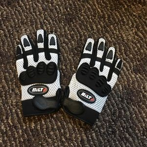 Bilt Other - Boys - Bilt Motor Cross Gloves - Black & White