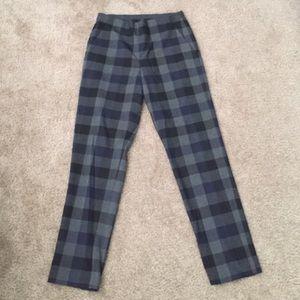 UNIQLO Pants - Zara plaid pants with elastic band