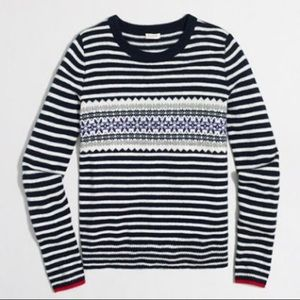 J. Crew Sweaters - ✨LIKE NEW J. Crew Fair Isle Sweater ❤