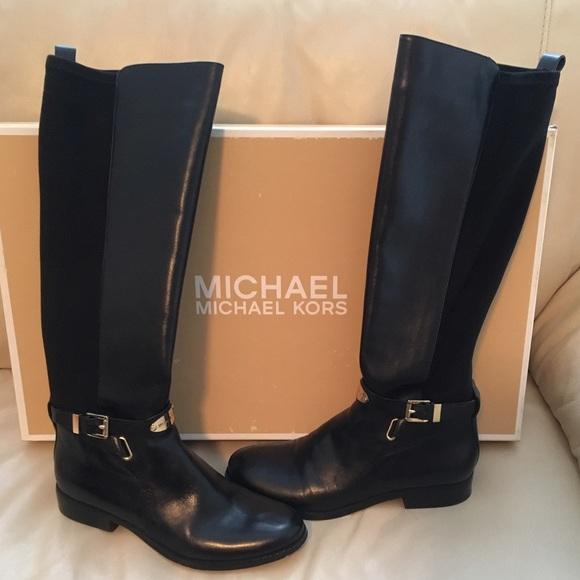 dcf6cb2095d Authentic Michael Kors Arlen Stretch Boots
