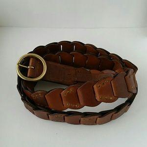 Beautiful vintage leather belt