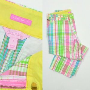 Lilly Pulitzer Pants - Lilly Pulitzer Pants | Summer Plaid Cropped Pants