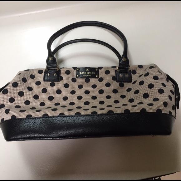 87 off kate spade handbags kate spade polka dot purse from kate spade polka dot purse junglespirit Gallery