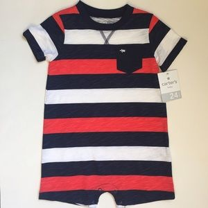 Carter's Other - Carter's striped summer roper sz 24 months. NWT!