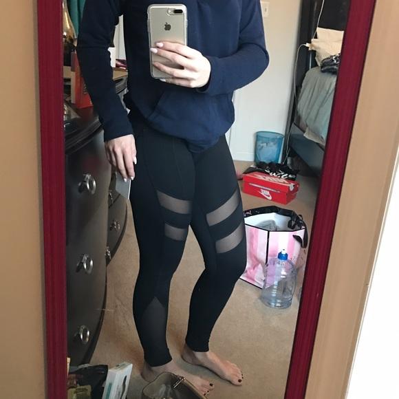 4e5a9423d5a75 Yogalicious Pants | Mesh Paneled Leggings | Poshmark