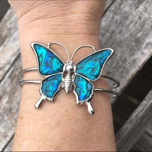 Abalone Butterfly Cuff! NEW!