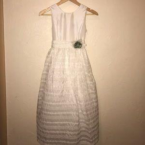 Jayne Copeland Other - FINAL PRICE DROP Communion Flower Girl Dress sz 12