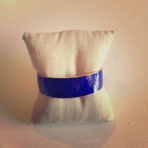 J.Crew Blue and Gold Enamel Bracelet ⭐️