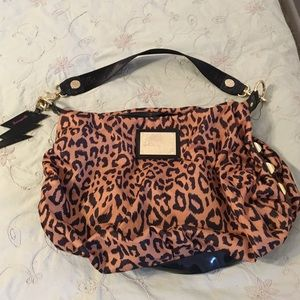 Betseyville animal print,studded purse
