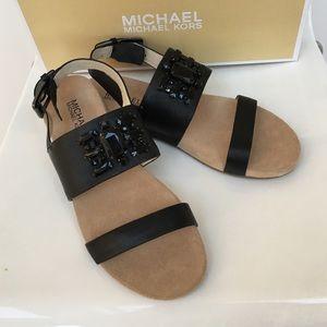 Brand new Michael Kors Luna bejeweled sandals