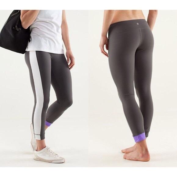 f2594714a0 lululemon athletica Pants | Rare Lululemon Amped Crop Leggings ...