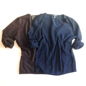 LORD & TAYLOR 2 cashmere sweaters