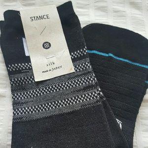 "Stance Other - Stance Silk ""Forerunner"" Socks - L"