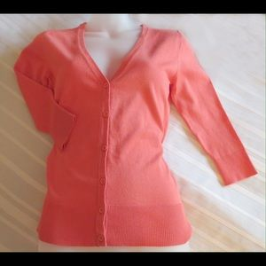14th & Union Sweaters - 14th & Union Gorgeous Color Soft Cardigan Size S