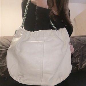 Elliott Lucca Handbags - Elliot Luca original leather handbag. Unique strap