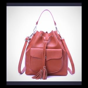 CLAY COLOR BUCKET BAG