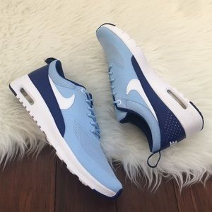 Nike Shoes - | Nike | Blue & White Air Max Thea Sneakers