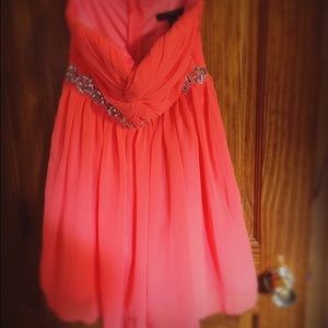 City Studio Dresses & Skirts - Peach Semi Formal
