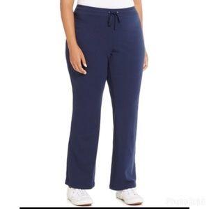 Style & Co Pants - Style & co sport  blue straight leg sweatpants b66