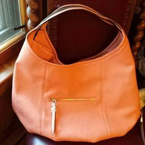 Urban Expressions Handbags - Urban Expressions NWT Vegan Tangerine Satchel